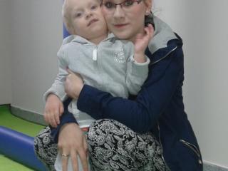 Mama Monika z Olusiem